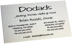 Dodads business card