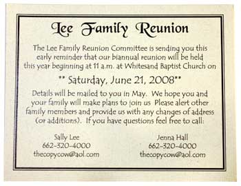 family day invitation template